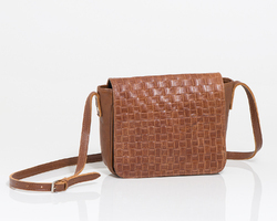 Dory bag in brown leather