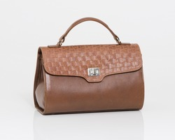 Agnesbag in brown leather