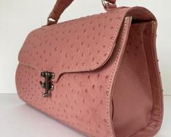 Agnesbag in ostrich leather